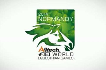 World Equestrian Games Logo 2014 Normandy