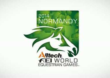 World Equestrian Games Logo 2014 Normandy