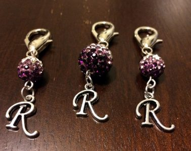 DIY Bridle Charms and Bridle Tags finished charms set of three