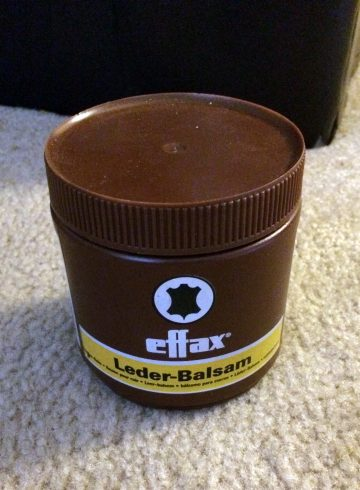 Effax Leather Balm review