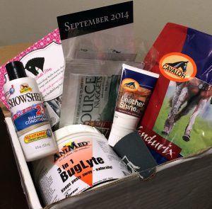 A Horse Box September 2014 Cavalor review with Endurix, AniMed Buglyte, Cavalor Leather Shine, Showsheen Shampoo, Source Nuggest
