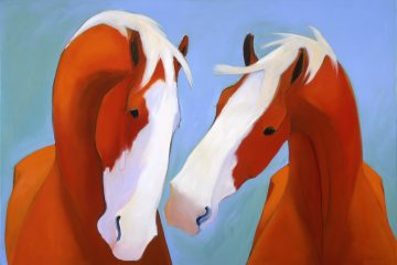 Broodmares #2 by Katie Upton