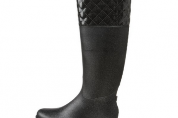 DAV Quilted English Rain Boots