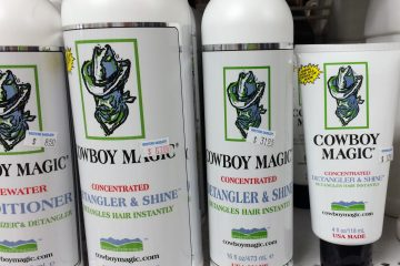 Cowboy Magic Detangler and Shine Review