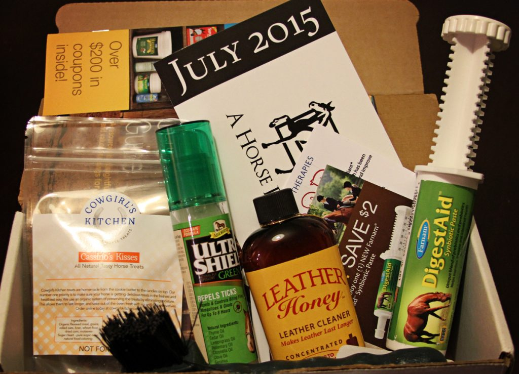 A Horse Box July 2015 Review