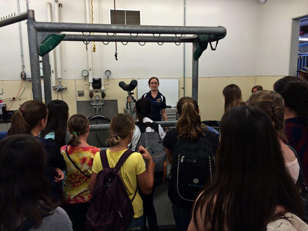 UC Davis Tour BAE Vet Camp