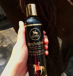 Ponytail Products Review Show Pony Shine
