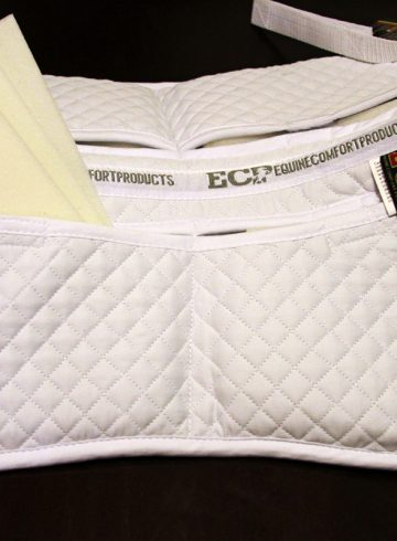 Equine Comfort Products Cotton Correction Half Pad Review