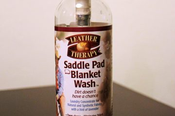 Leather Therapy Saddle Pad and Blanket Wash Review