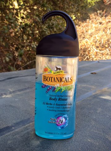 Absorbine Botanicals™ Natural Herbal Liniment Body Rinse Review