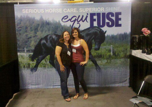 EquiFUSE Feature Our First Trade Show