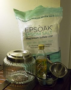 DIY Epsom Salt Upgrade