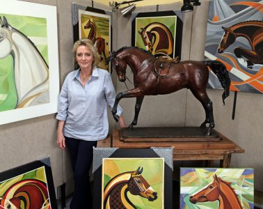 In the Studio: Patricia Borum