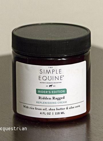 The Simple Equine's Ridden Ragged Replenishing Cream Review