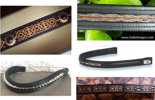 Browbands for the un-sparkley types