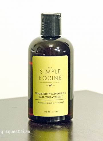 simple equine nourishing avocado tail treatment review