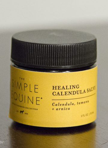 The Simple Equine Healing Calendula Salve Review