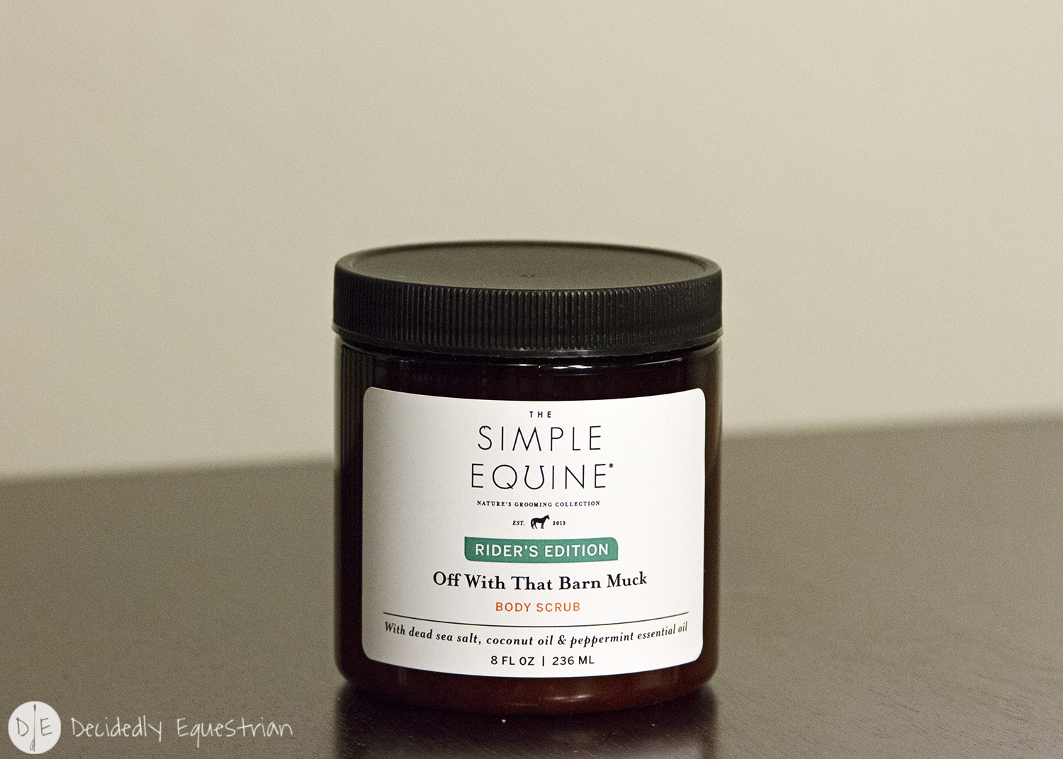 The Simple Equine Off With That Barn Muck Body Scrub Review