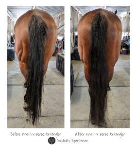 Knotty Horse Detangler Review