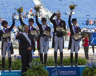 World Equestrian Games Tryon 2018 Dressage Team Competition