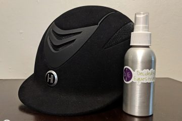 DIY Helmet Deodorizing Spray