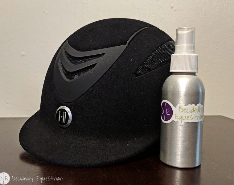 DIY Helmet Deodorizing Spray