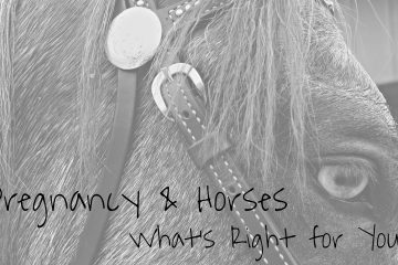 Pregnancy and Horses. What's right for you?