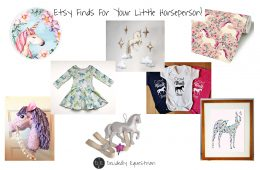 Etsy Finds For Your Little Horseperson!