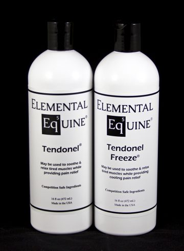 Elemental Equine Tendonel and Tendonel Freeze Review