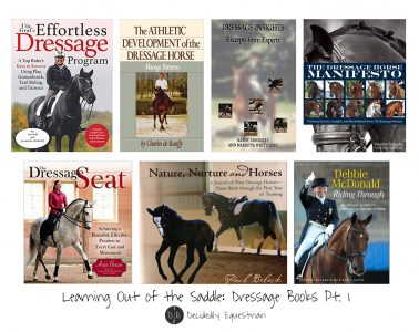 Learning Out of the Saddle Dressage Books Pt 1