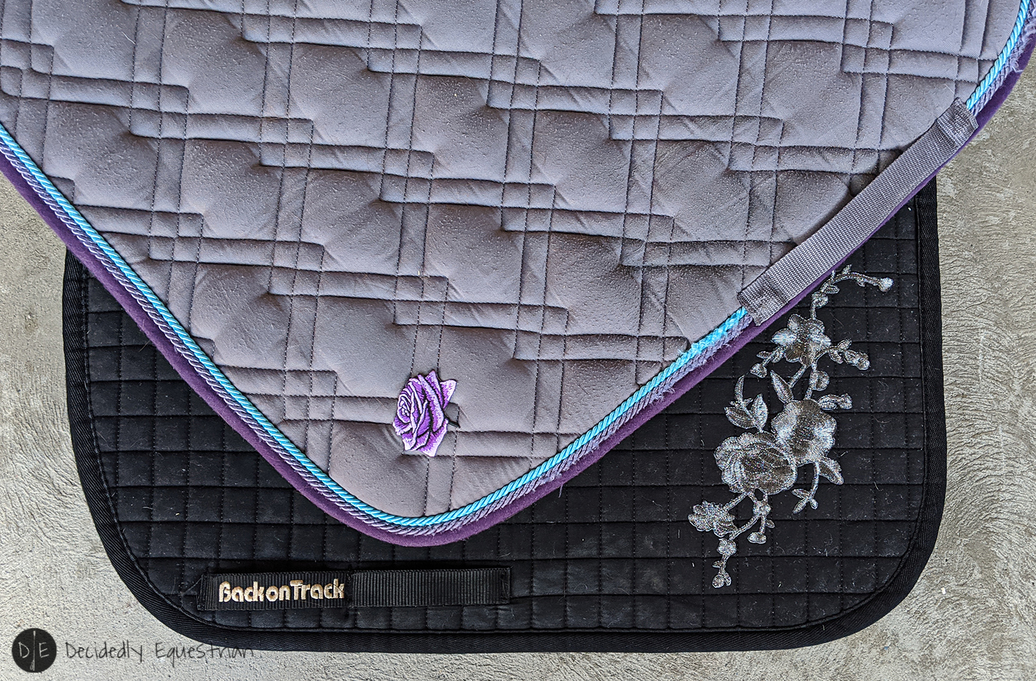 DIY Saddle Pad Upgrade - Patches