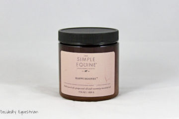 The Simple Equine Happy Hooves Conditioner Review