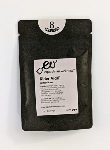 Equestrian Wellness Rider Aide Winter Brew Review