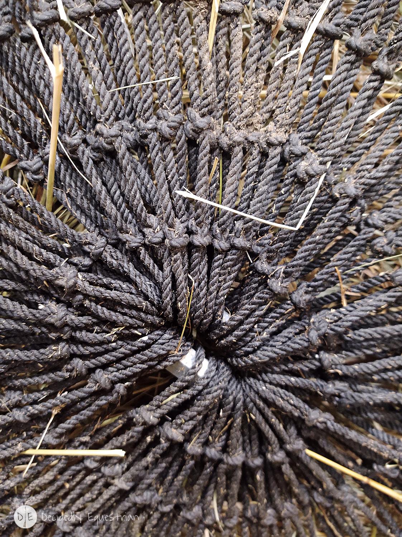 Hay Chix Large Bale Net 4x4 HEAVY DUTY