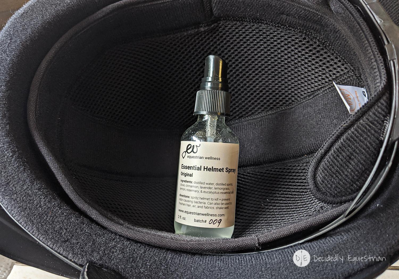 Equestrian Wellness Essential Helmet Spray Review