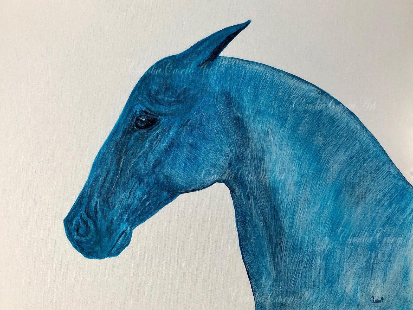 Equestrian Art on Etsy 2020