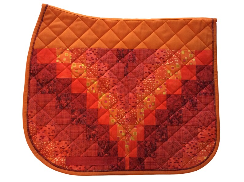 Cool Graphic Monogram Saddle Pad -