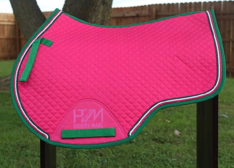 2020 Wish List Saddle Pads from Etsy