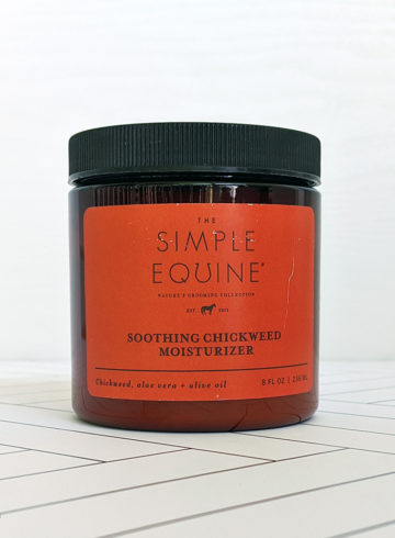 Simple Equine Soothing Chickweed Moisturizer Review