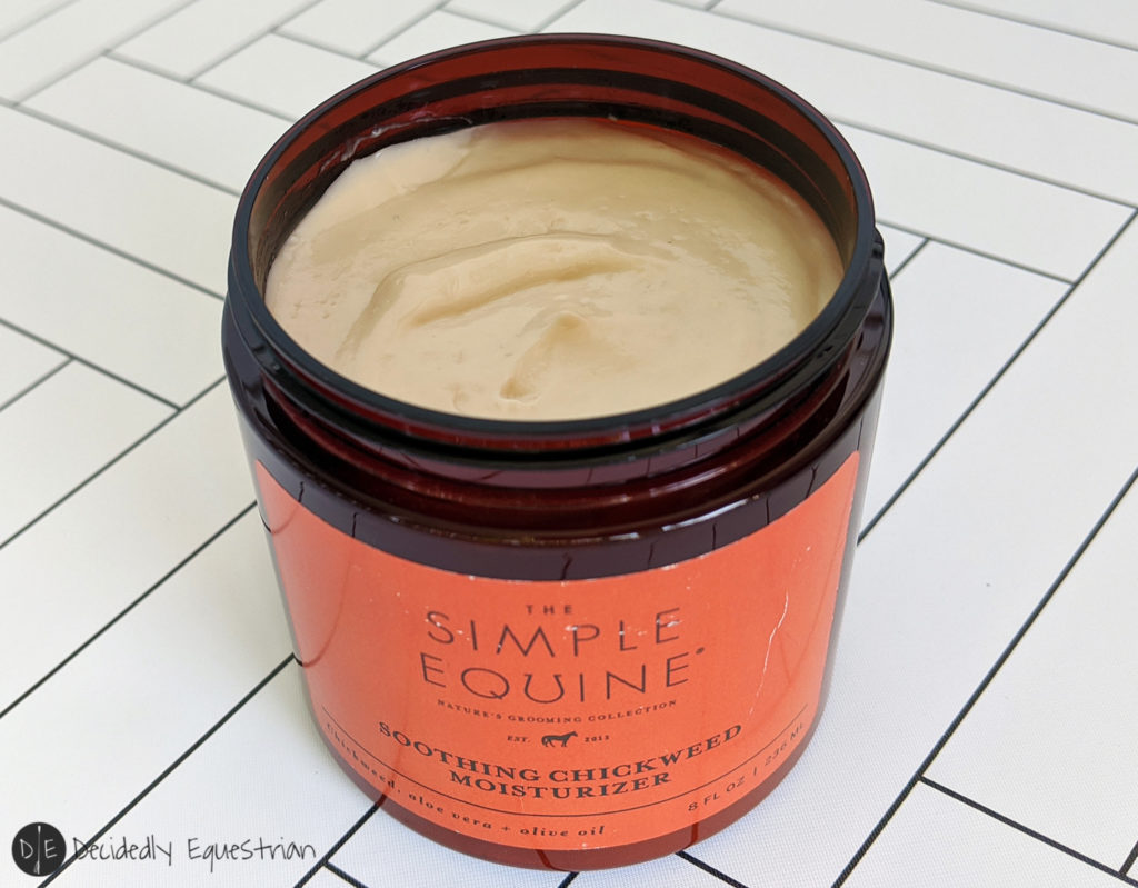 Simple Equine Smoothing Chickweed Moisturizer Review