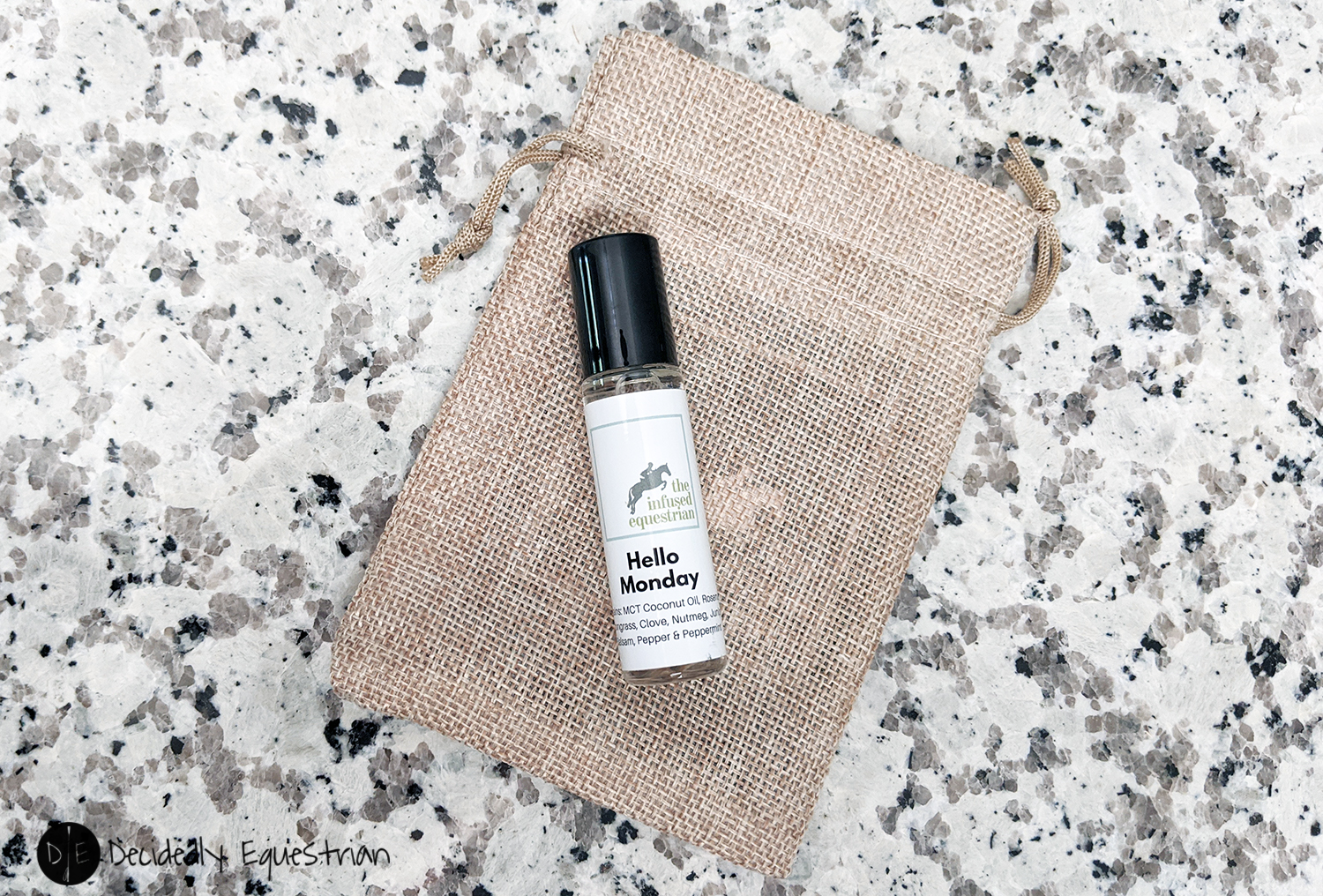The Infused Equestrian Hello Monday Roller Blend Review