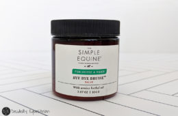 The Simple Equine Bye Bye Bruise Salve Review