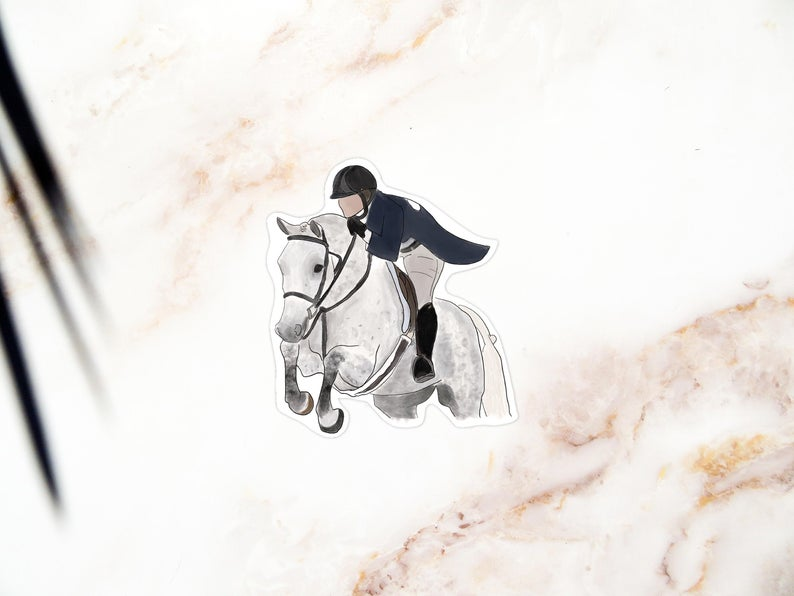Equestrian Stickers for All!