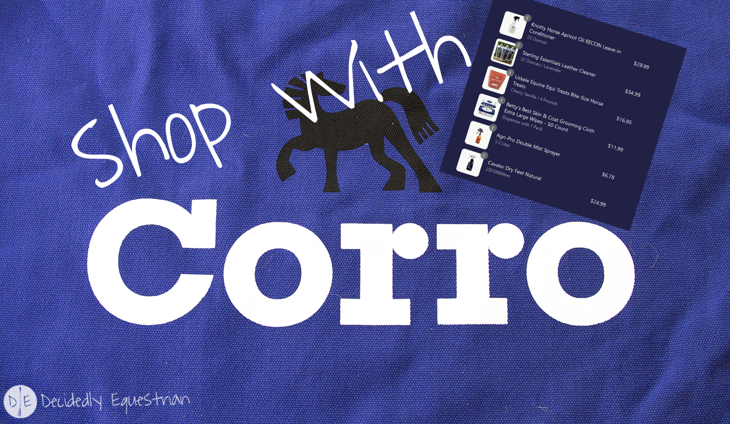 Shopping with Corro