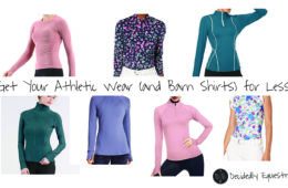 Get Your Athletic Wear (and Barn Shirts) for Less