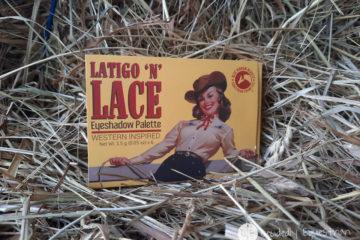 Blue Ribbon Beauty Latigo and Lace Eyeshadow Palette Review